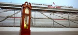 Martinsville Speedway's first grandfather clock from 1964