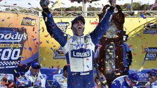 Jimmie Johnson seeking his 10th win at Martinsville I NASCAR RACE DAY