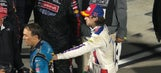 Ryan Blaney and Kevin Harvick exchange words after hard racing in Martinsville