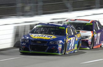 Breaking down Denny Hamlin's controversial move on Chase Elliott