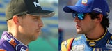 Denny Hamlin and Chase Elliott comment on their Martinsville altercation