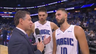 Nikola Vucevic, Evan Fournier on winning first game of season