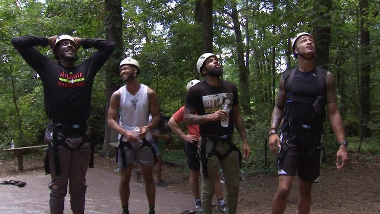 Team Bonding: Atlanta Hawks players and coaches get out of their comfort zones