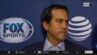 Erik Spoelstra: 'We were on our heels the majority of the night'