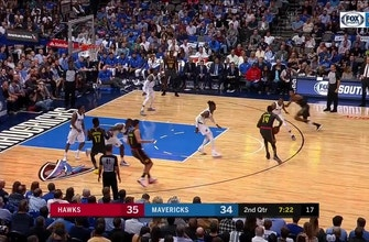Images of WATCH: Nerlens Noel with the block, put-back slam on opposite end vs. Hawks