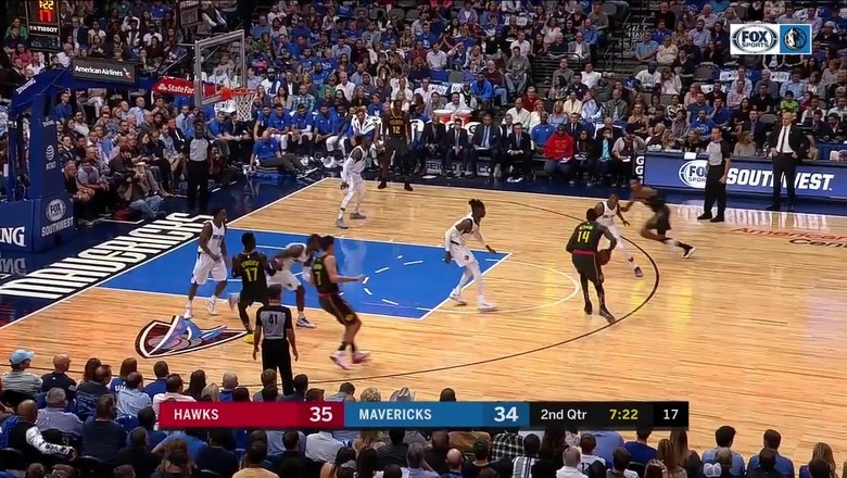 WATCH: Nerlens Noel with the block, put-back slam on opposite end vs. Hawks