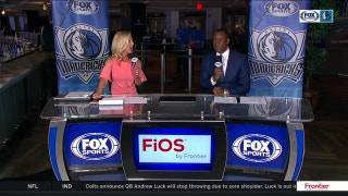 Dennis Smith Jr. makes NBA debut in loss | Mavs Live