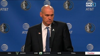 Rick Carlisle talks 117-111 loss in home-opener