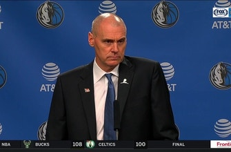 Images of Rick Carlisle talks 117-111 loss in home-opener