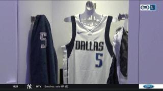 Mavericks new locker rooms | Mavs Live