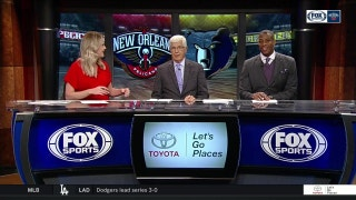 Rondo thrilled no longer oldest guy on team | Pelicans Live