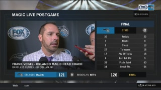 Frank Vogel says Magic had too many breakdowns Friday