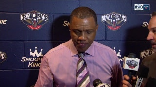 Alvin Gentry talks 128-120 loss to Golden State