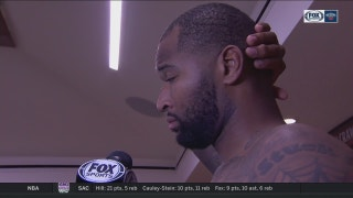 DeMarcus Cousins on tough loss to Golden State