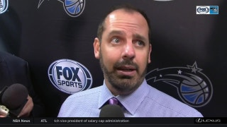 Frank Vogel said Magic 'swarmed' Cavaliers defensively in Saturday's win