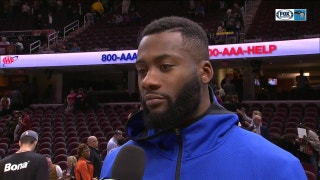 Jonathon Simmons said the Magic 'shot great' in win over Cavaliers