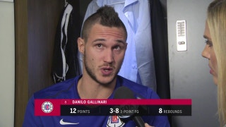 Gallinari: 'Our defense was on point, our offense was great'