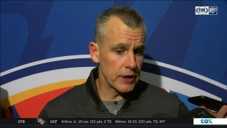 Billy Donovan talks 96-87 loss to Jazz on the road