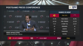 Erik Spoelstra says Heat lacked some organization after getting big lead