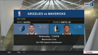 Grizzlies coming into town next | Mavs Live