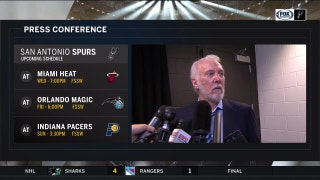 What does Pop say after win over Toronto? | Spurs Live