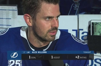 Lightning's Alex Killorn gives thoughts on the OT win over the Capitals