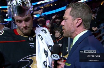 Ducks Live: John Gibson on his huge game in the 3-2 win against Islanders