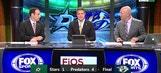 Struggling to score in loss to Preds | Stars Live