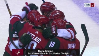 HIGHLIGHTS: Defensive breakdowns costly as Coyotes fall again