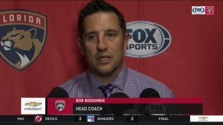 Bob Boughner felt giving up a shorthanded goal was the difference in loss to Penguins