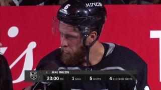Jake Muzzin on the win and special teams improvement