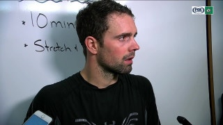 Dan Hamhuis on defeating Coyotes 3-1 at home