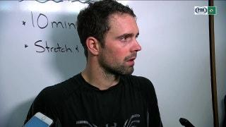 Dan Hamhuis on defeating Coyotes 3-1 at home
