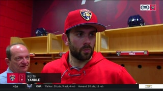 Panther's Keith Yandle: Losses like tonight are hard to swallow