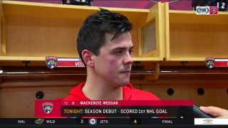 Panther's Weegar: 'This is the only time you'll see my smiling after a loss'