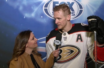 Corey Perry on his game-winning shootout goal