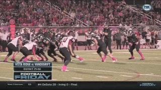 Vista Ridge vs. Vandegrift | Football Friday