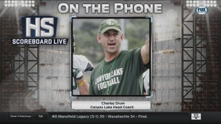 Canyon Lake Coach Charley Drum joins the show | High School Scoreboard Live