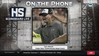 Cedar Park Coach Carl Abseck joins the show | High School Scoreboard Live