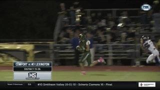 Lexington vs. Comfort | High School Scoreboard Live