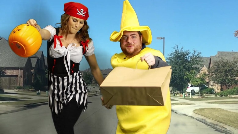 Kaime & Grubes go trick-or-treating at players' houses | The Dose