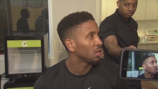 Heat forward Rodney McGruder discusses his injury situation
