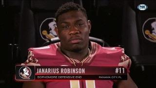 Inside the Helmet: FSU DE Janarius Robinson