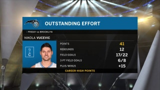Nikola Vucevic looks to help Magic bounce back in Cleveland