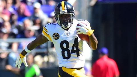 OVERREACTION: Antonio Brown is catching up to Odell Beckham Jr. on the tantrum level.
