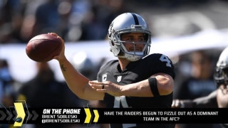 Are the Raiders fizzling out as AFC contenders?