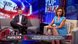 Michael Bisping talks about his upcoming fight with Georges Saint-Pierre | TUF Talk