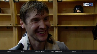 Sergei Bobrovsky loves the wins and calling out reporters