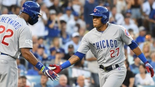 Addison Russell's solo HR got the Cubs on the board first, but the Dodgers claim a 2-0 NLCS lead