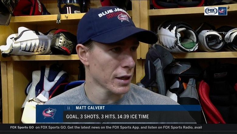 Matt Calvert wants the Blue Jackets to limit mistakes